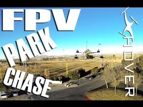 FPV-Park chase with QAV-500 and GoPro Hero 3 Black 1080P