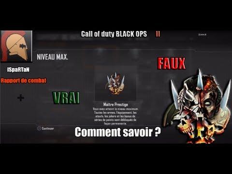 Comment Monter Prestige 1 Black Ops 2