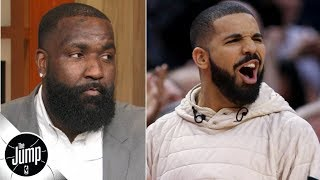 Kendrick Perkins on trash-talking Drake: 'You really want this smoke with me?' | The Jump