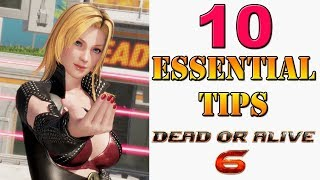Dead or Alive 6 - 10 essential gameplay tips