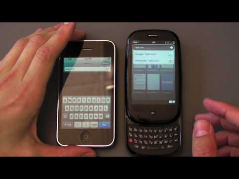 iPhone 3G S vs Palm Pre Browser Showdown