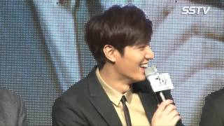 150106 Lee Minho and Kim RaeWon at Gangnam 1970 [강남 1970] Showcase