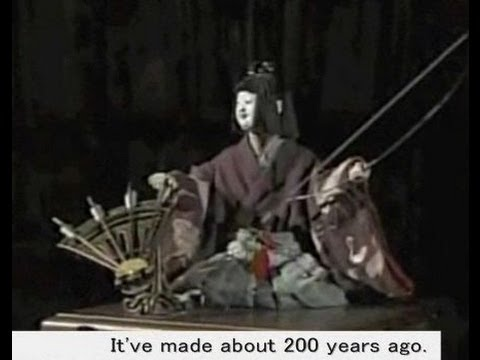 "The most famous Japanese ""Karakuri"" automata that have made 200 years ago."