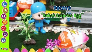 Pocoyo Robot Surprise Egg #Kinder Joy Suprise#Pocoyo Toys◕‿◕ KidsF