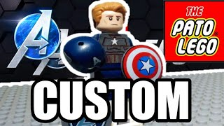 #PlayAvengers Custom Cap Marvel's Avengers video game!!!