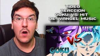 VIDEO REACCIÓN SON GOKU VS HIT RAP DE IVANGEL MUSIC #LMD
