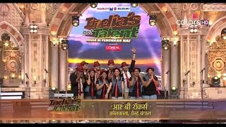 R B Rockers Perform his Talent at India's Got Talent 2016