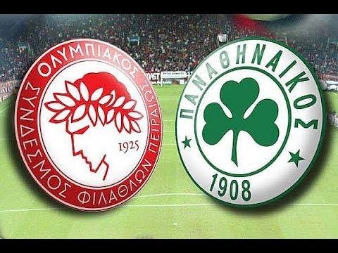 Olympiacos Mitroglou goals VS Panathinaikos ...