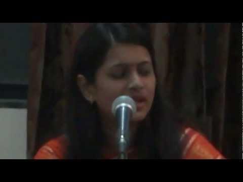 Ekach ya Janmi janu........!! My dear sister Ankita as singer...