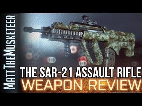 THE SAR-21 WEAPON REVIEW!   Battlefield 4