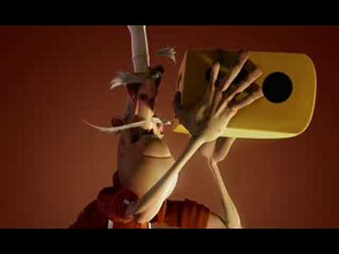 """Al Dente"" short film - supinfocom 2007"