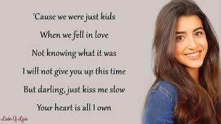 PERFECT - Ed Sheeran (Cover by Luciana Zogbi) (Lyrics)