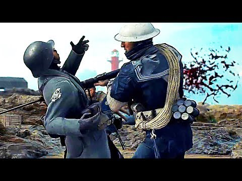 BATTLEFIELD 1 North Sea Trailer (2018) Turning Tides DLC