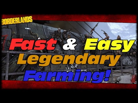 Borderlands How To Farm Legendary Weapons The Fastest & Easiest Way! Claptrap DLC Tartarus Armory!