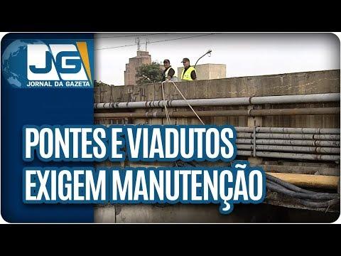 Pontes e viadutos exigem manutenção