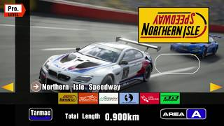 Gran Turismo Sport but with GT3's track selection menu
