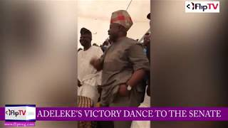 ADEMOLA ADELEKE'S VICTORY DANCE TO THE SENATE (Nigerian Lifestyle & Entertainment)