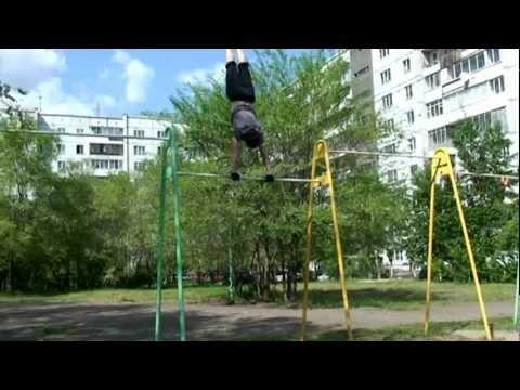 Открытие сезона уличного спорта в Красноярске - Street Workout Krasnoyarsk (2.06.2012)