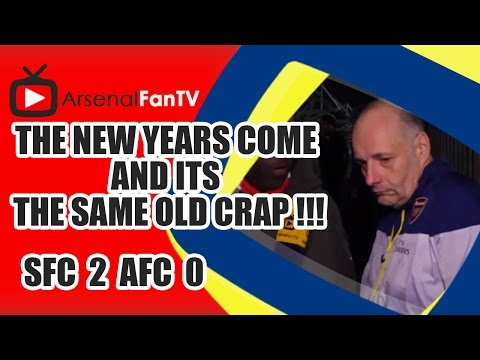 The New Years Come And Its The Same Old Crap !!! - Claude upset with Arsenal's inept performance. Southampton 2 Arsenal 0 AFTV ONLINE SHOP : http://goo.gl/ri...