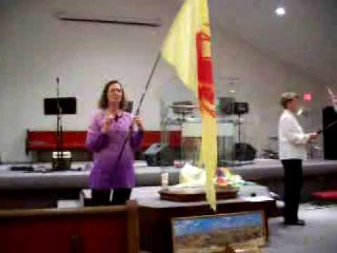 Unity in Praise and Worship with Flags Video
