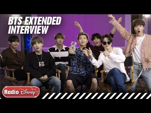 BTS Extended FULL Interview! | Radio Disney thumbnail
