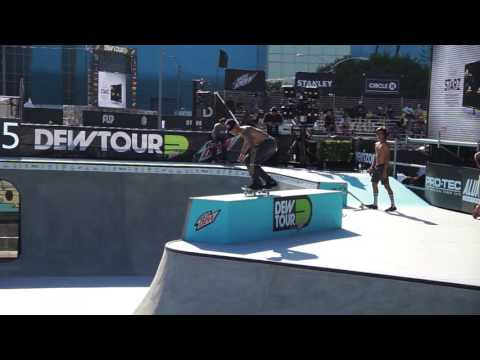 Ryan Sheckler Dew Tour Bowl Long Beach 2017