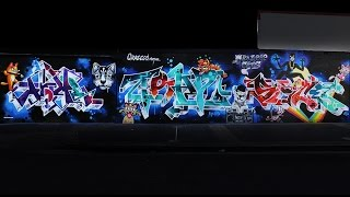 Crazee Cats Graffiti Production with Atome Teaz & Spice