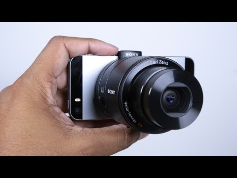 Sony QX100 iOS/Android Camera Lens Unboxing
