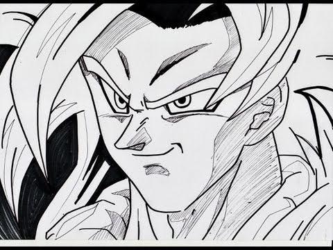 Super Saiyan 4 Drawings Draw Gogeta Super Saiyan 4