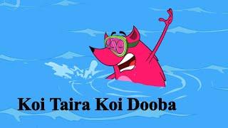 Pyaar Mohabbat Happy Lucky - Ep.8 | Koi Taira Koi Dooba | Hindi Animated Cartoon Show | ZeeQ