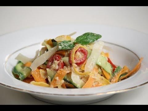 Zucchini Pasta | Sanjeev Kapoor Khazana
