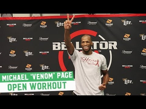 Bellator 200 Open Workouts: Michael 'Venom' Page