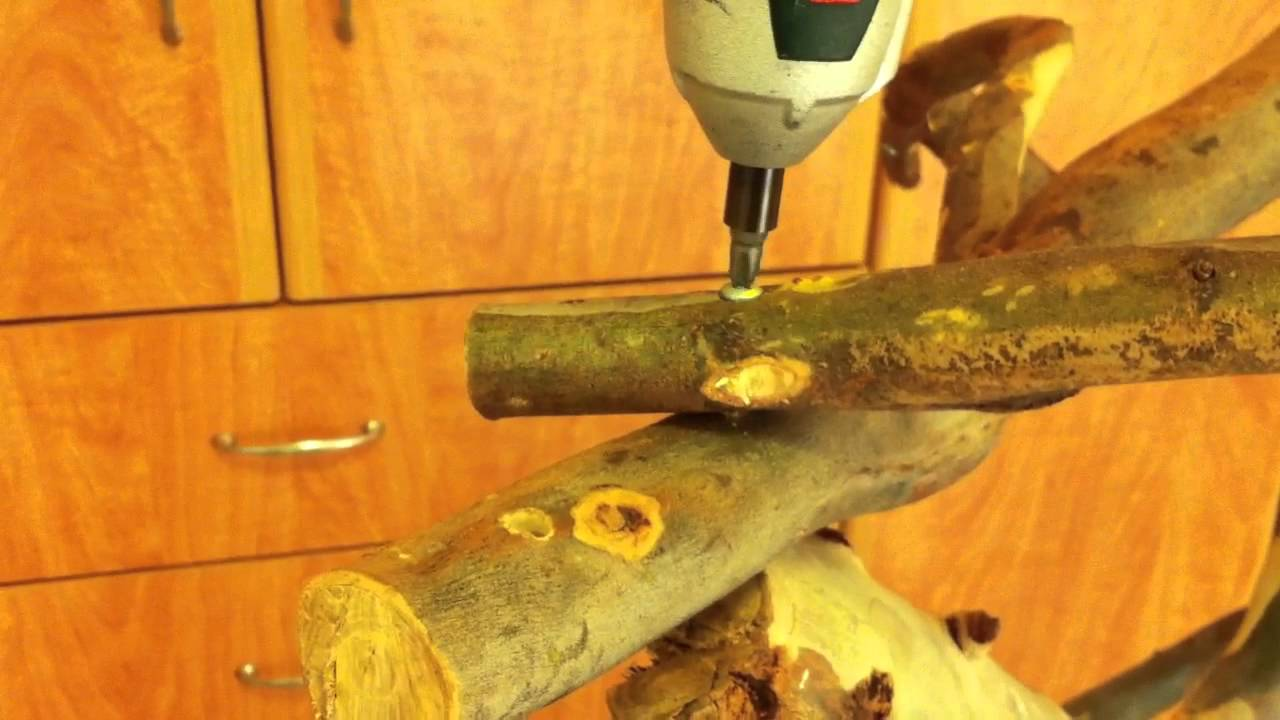 how to build a parrot stand youtube