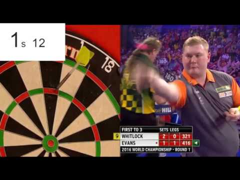 Rapid Ricky Evans - World's Fastest 180 - 2.65 Seconds