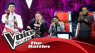 The Battles : Upendra Siriwardhana V Jayaruwan Banuka | Dumbara Mitiyawatha | The Voice Sri Lanka