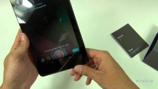 Google Nexus 7 Unboxing und Kurztest - Deutsch (FULL HD)