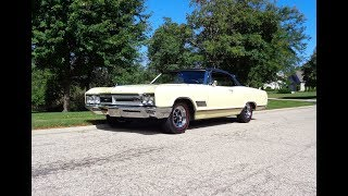1966 Buick Wildcat GS Gran Sport Convertible Cream & Engine Sound - My Car Story with Lou Costabile
