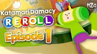 Katamari Damacy REROLL Gameplay Walkthrough - Episode 1 - Creating Stars!