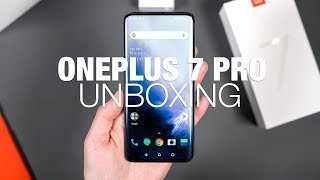 ONEPLUS 7 PRO Unboxing, First Look, and Tour!
