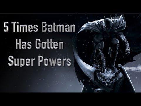 5 Times Batman Has Gotten Super Powers