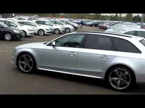 Audi A4 2.0 >> AUDI A4 AVANT SPECIAL EDITIONS (2011) 2.0 TDI 136 BLACK EDITION 5DR [START STOP] - VA11NWR - YouTube
