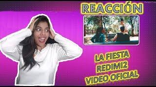 LA FIESTA - REDIMI2 VIDEO OFICIAL /  REACCIÓN | Yanny Lee