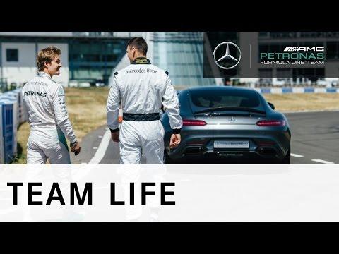 Nico Rosberg v Martin Kaymer: Challenge 1 - Fastest Lap