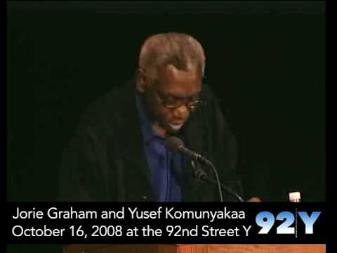 0 Jorie Graham and Yusef Komunyakaa at the 92nd Street Y