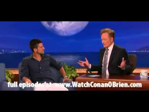 Novak Djokovic u emisiji kod Conan o'Brien   August 3, 2011