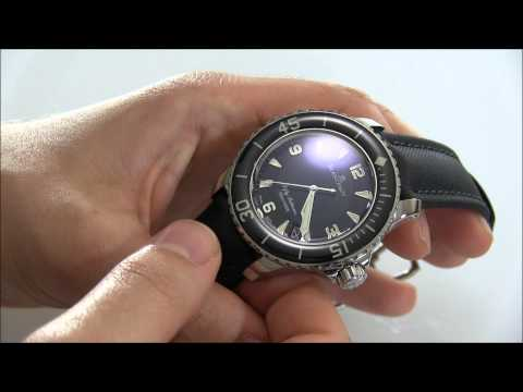 Blancpain Fifty Fathoms Watch Review