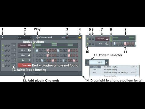 2) Fl Studio Bangla Tutorial (Channel Rack) With Sample Music