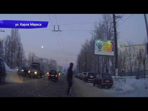 Видеорегистратор. ДТП на Воровского. Место происшествия 19.12.2016