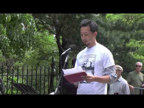 Daiyu Suzuki @ Taking Back Our Schools Rally & March, New York, NY - 17 May 2014