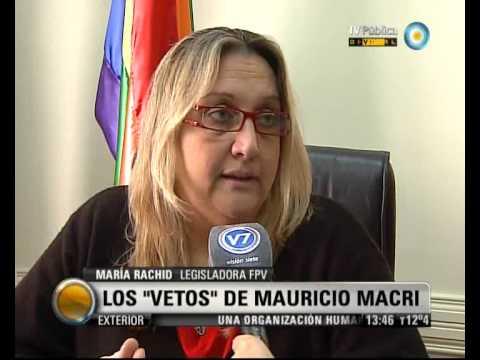 Visión 7: Los vetos de Mauricio Macri
